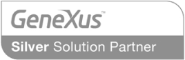 GeneXus Silver Solution Partner Logo